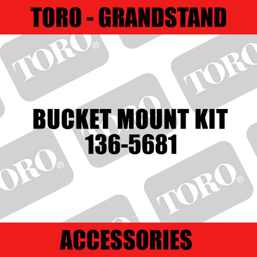 Toro - Bucket Mount Kit (Grandstand) - Sunshine Coast Mowers