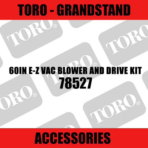 Toro - 60in E-Z Vac Blower and Drive Kit (Grandstand) - Sunshine Coast Mowers