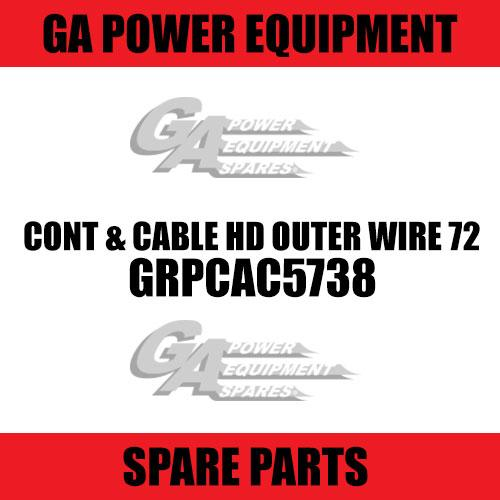 GA - Cont & Cable HD Outer Wire 72