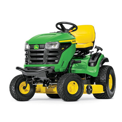 John Deere S130 Ride On Mower - Sunshine Coast Mowers