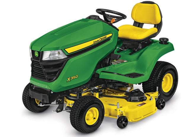 "John Deere X350 Ride On Mower - 48"" Deck"