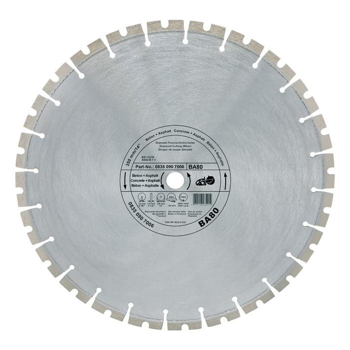 STIHL - Diamond Cutting Wheel - Concrete / Asphalt (BA80) 350mm