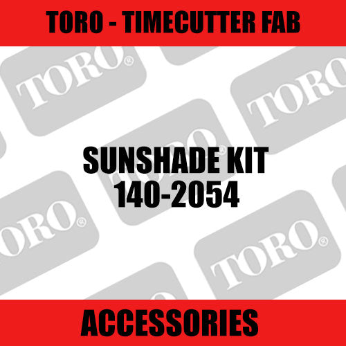 Toro - Sunshade Kit (TimeCutter Fab) - Sunshine Coast Mowers