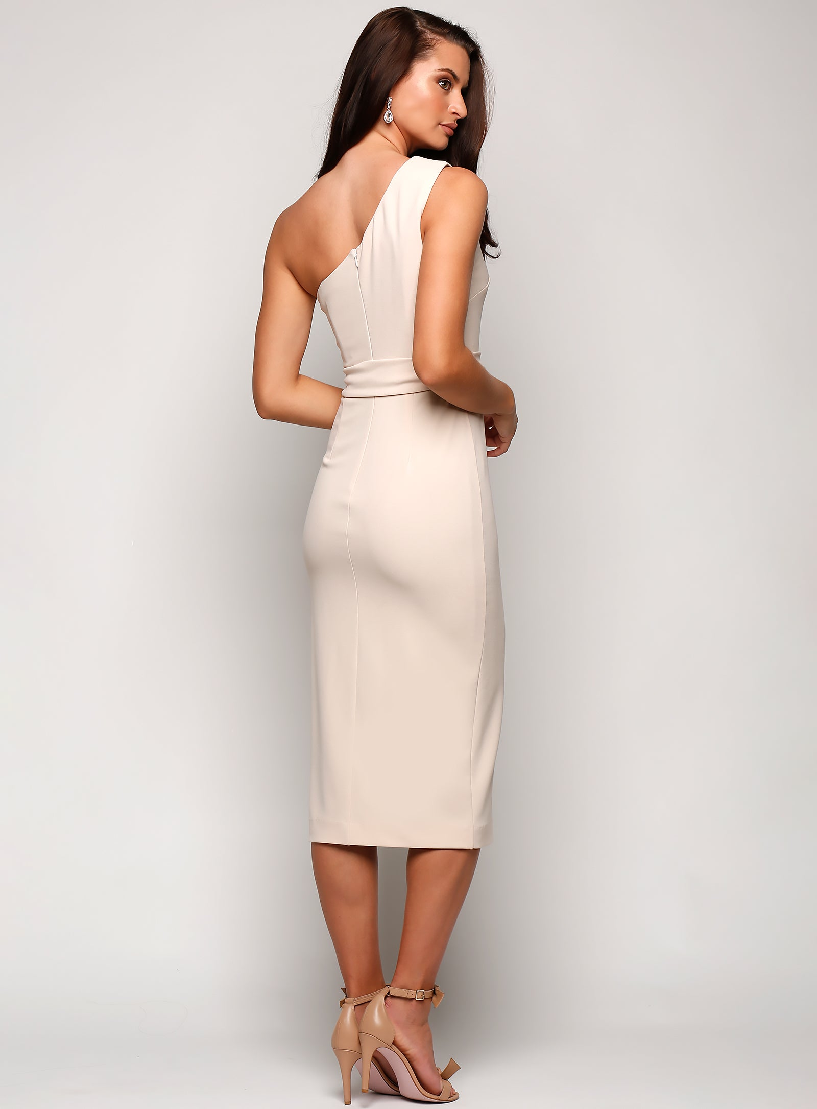 Topia One Shoulder Midi
