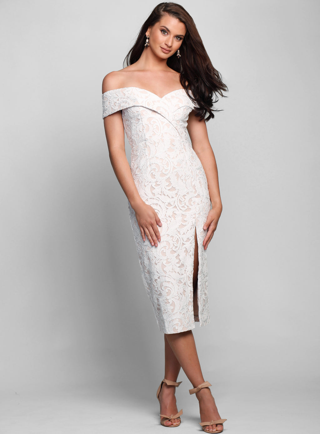Gia Lace Cocktail Dress