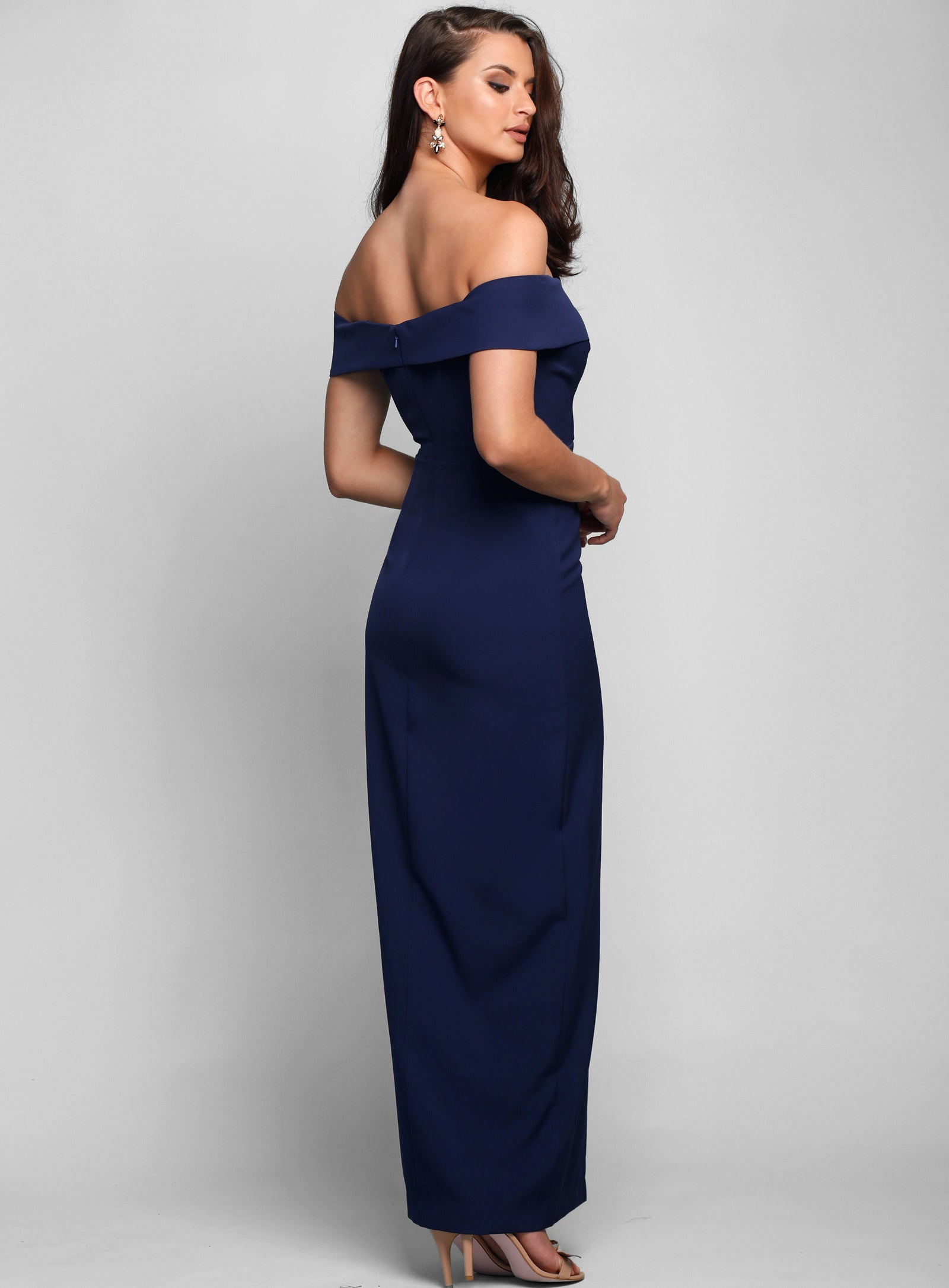 Gia Off Shoulder Pencil Dress