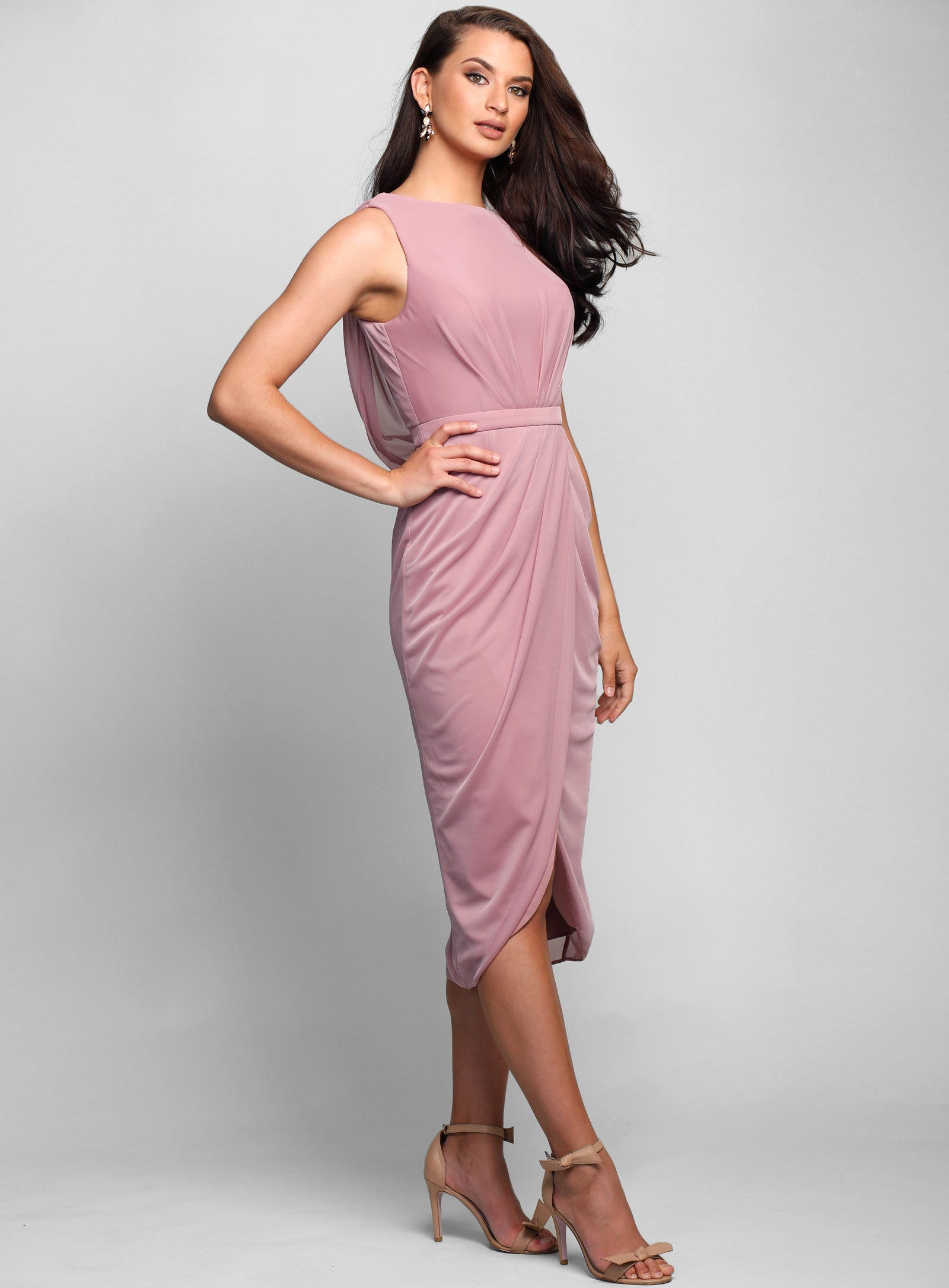 Hailey Cowl Back Dress