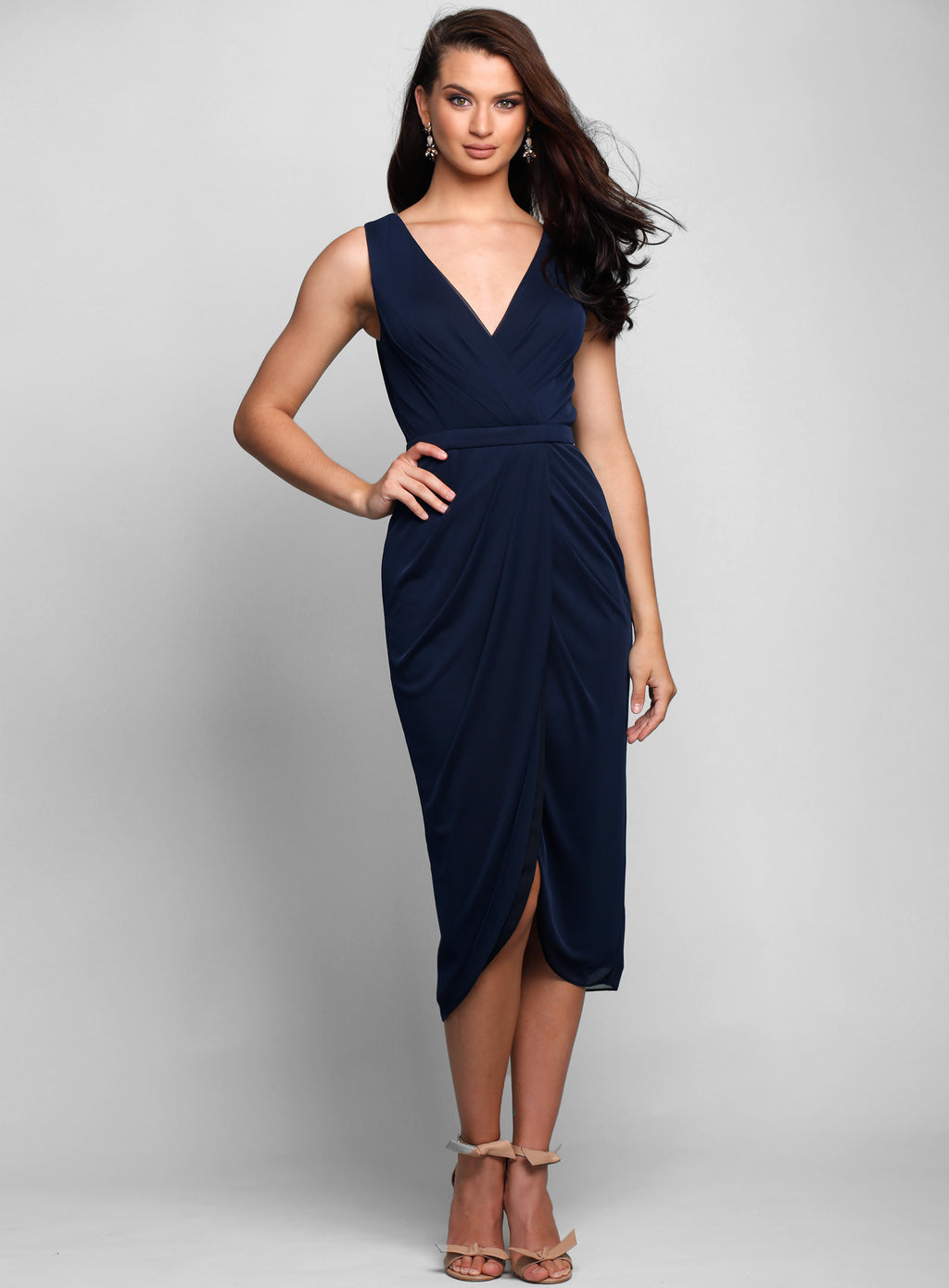 Kenny Drape Dress