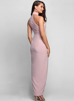 Lillian High Neck Dress