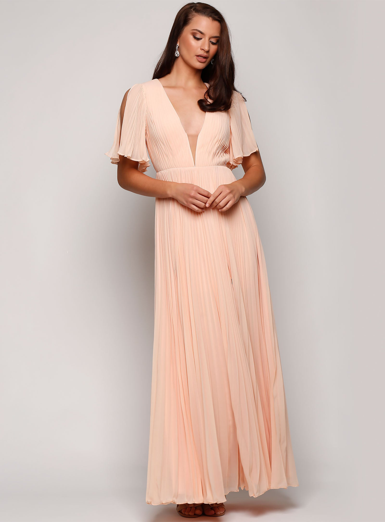 Clementine Pleated Gown