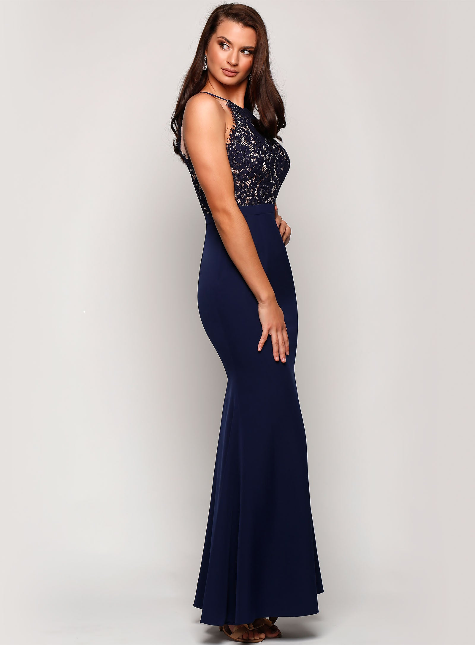 Aster Lace Gown