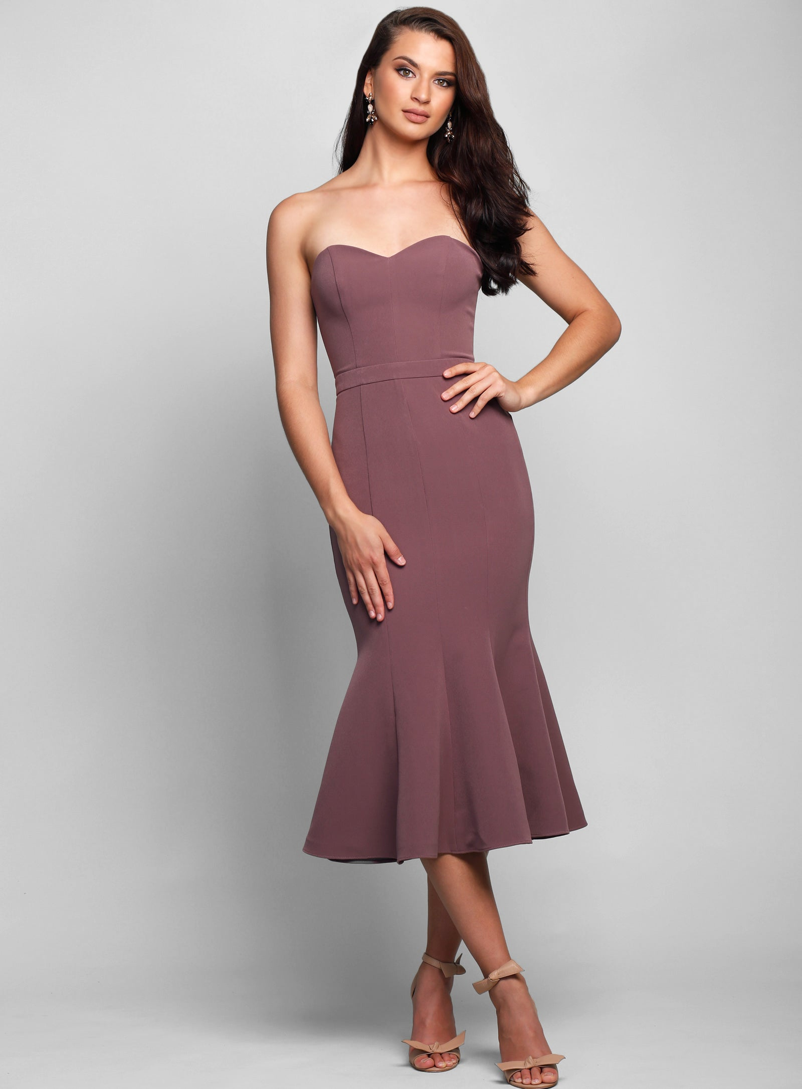 Stacey Fluted Dress
