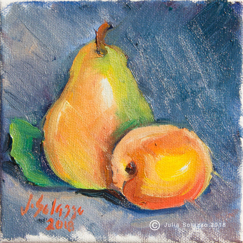 Pear and Nectarine