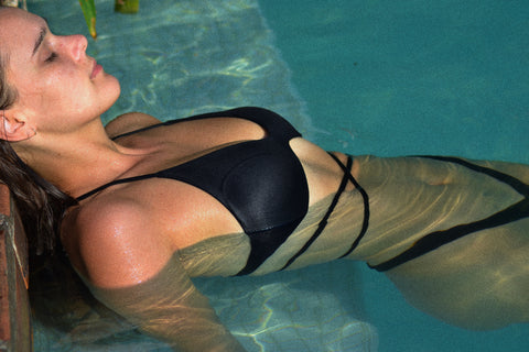 The bikinis are handmade by experts. They have a seamless finish and the designs are flattering.