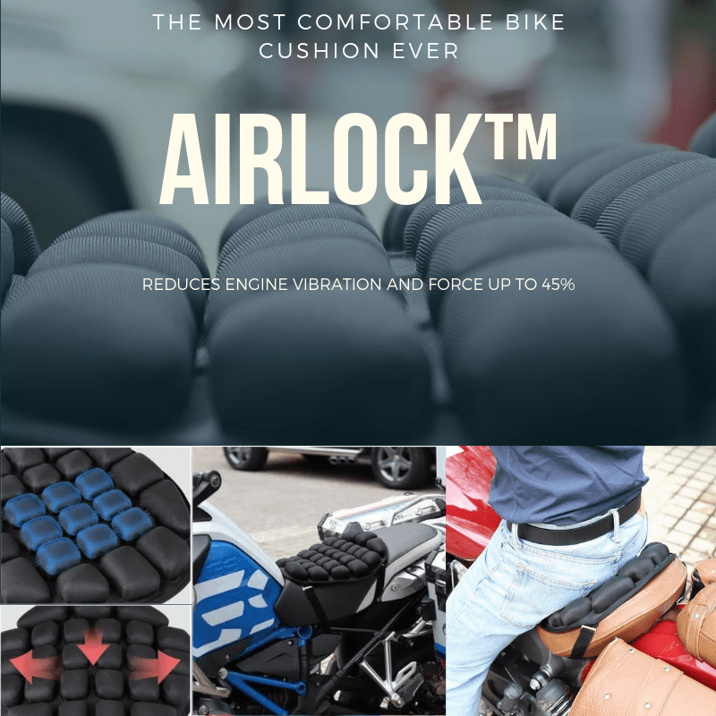 AIRLOCK™ The Most Comfortable Bike Cushion Ever-HOT