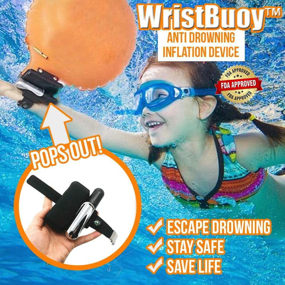 WristBuoy™ Anti Drowning Inflation Device