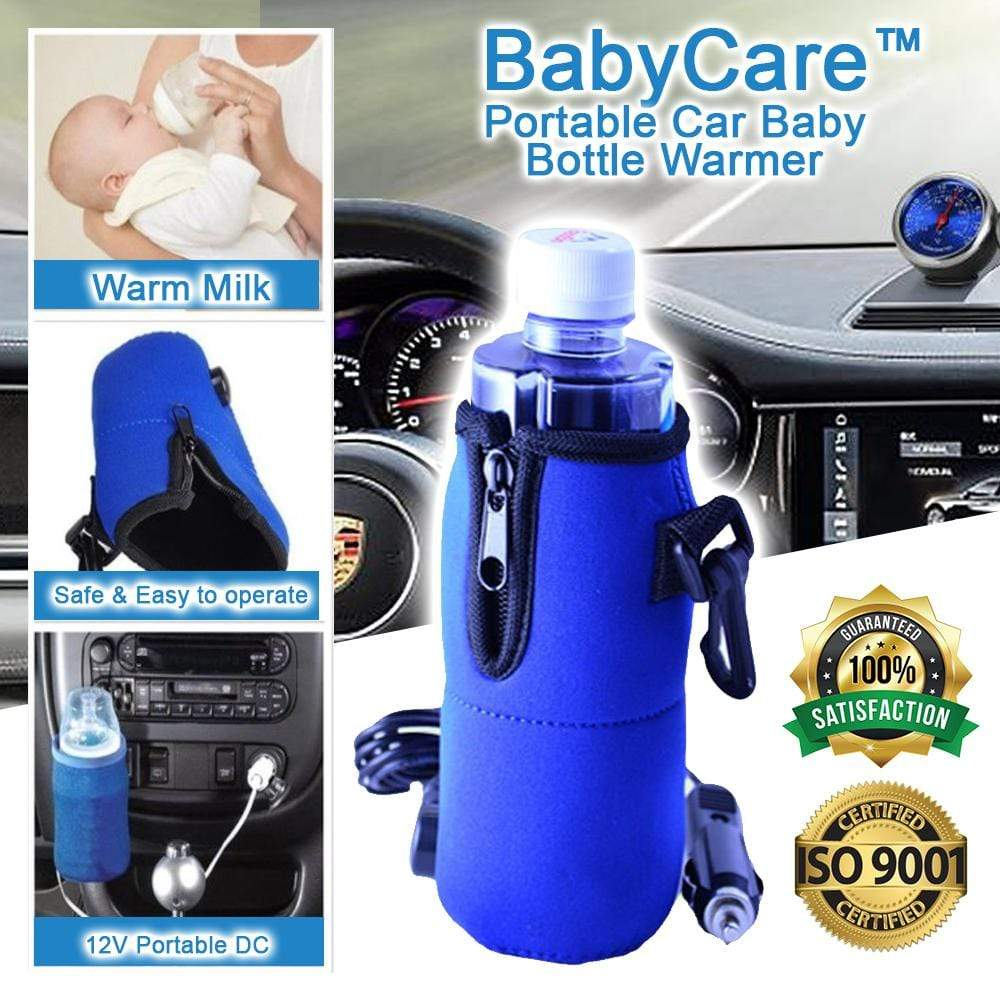 BabyCare™ Portable Car Baby Bottle Warmer