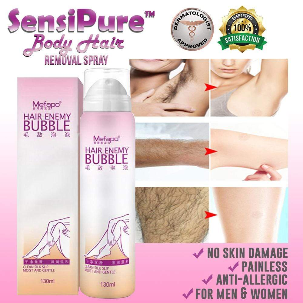 SensiPure™ Hair Removal Spray Foam-HOT