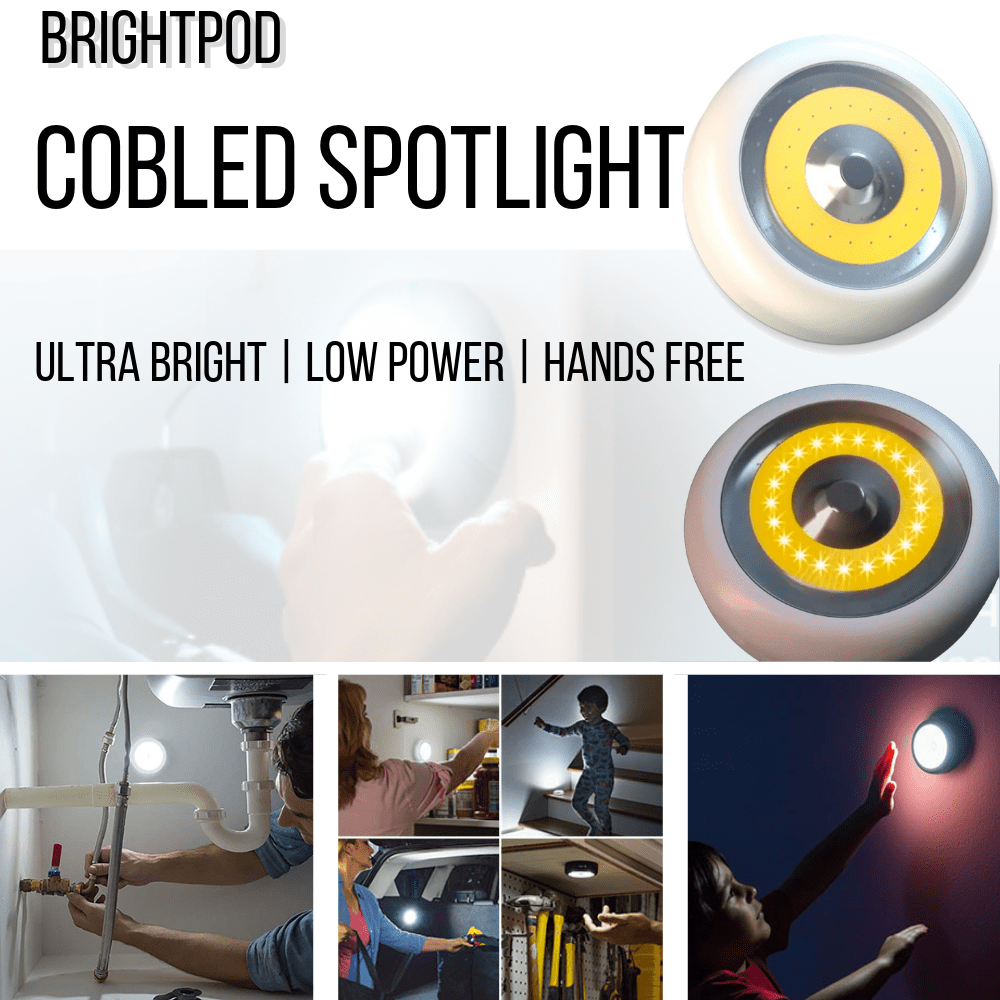 BrightPod™  Ultra Bright Hands Free Spotlight
