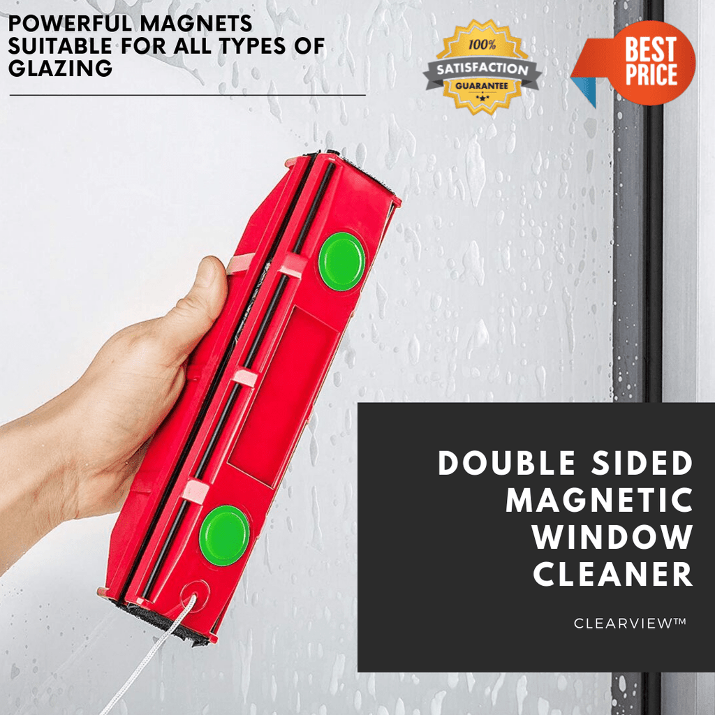ClearView™ Double Sided Magnetic Window Cleaner - HOT