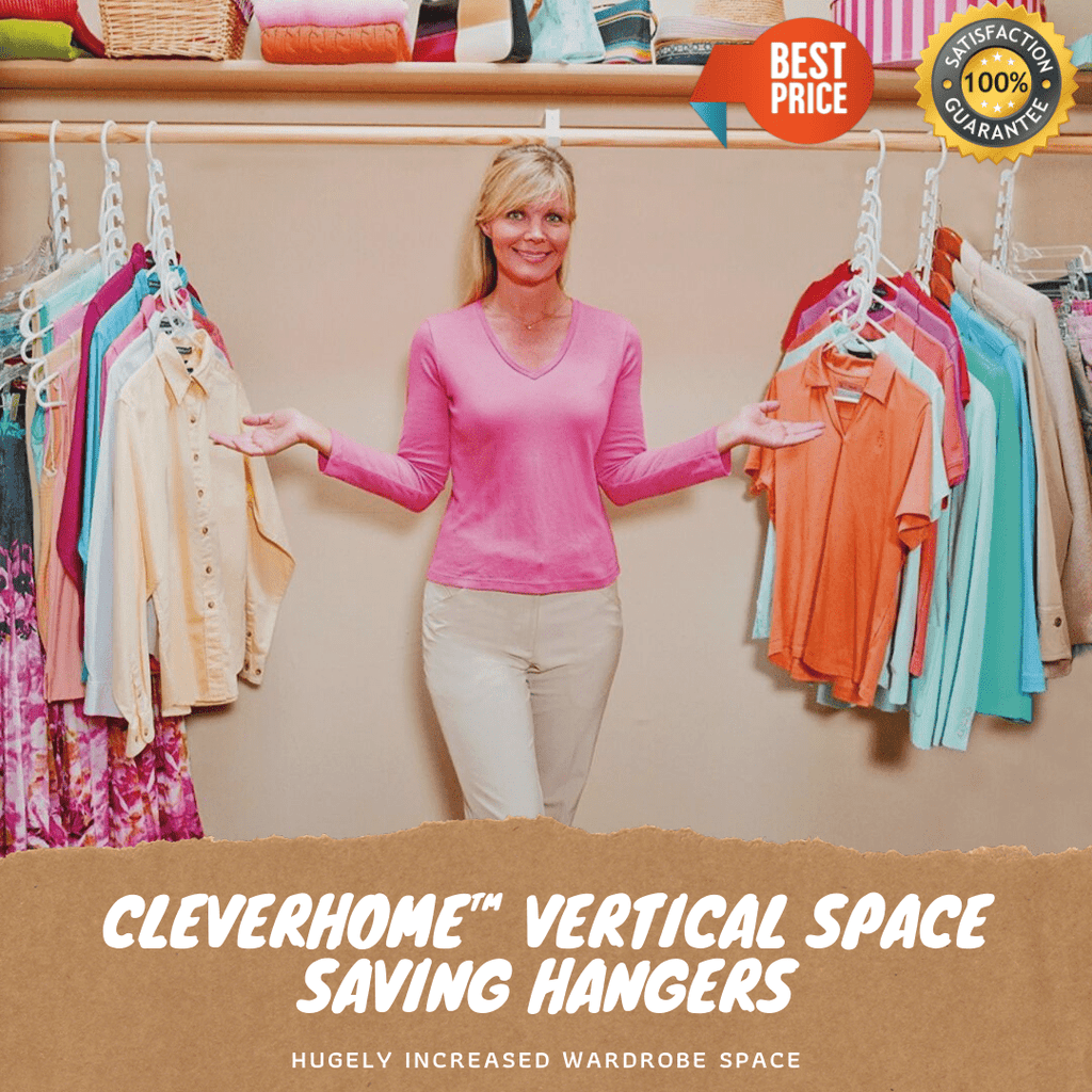 CleverHome™ Vertical Space Saving Hangers-HOT