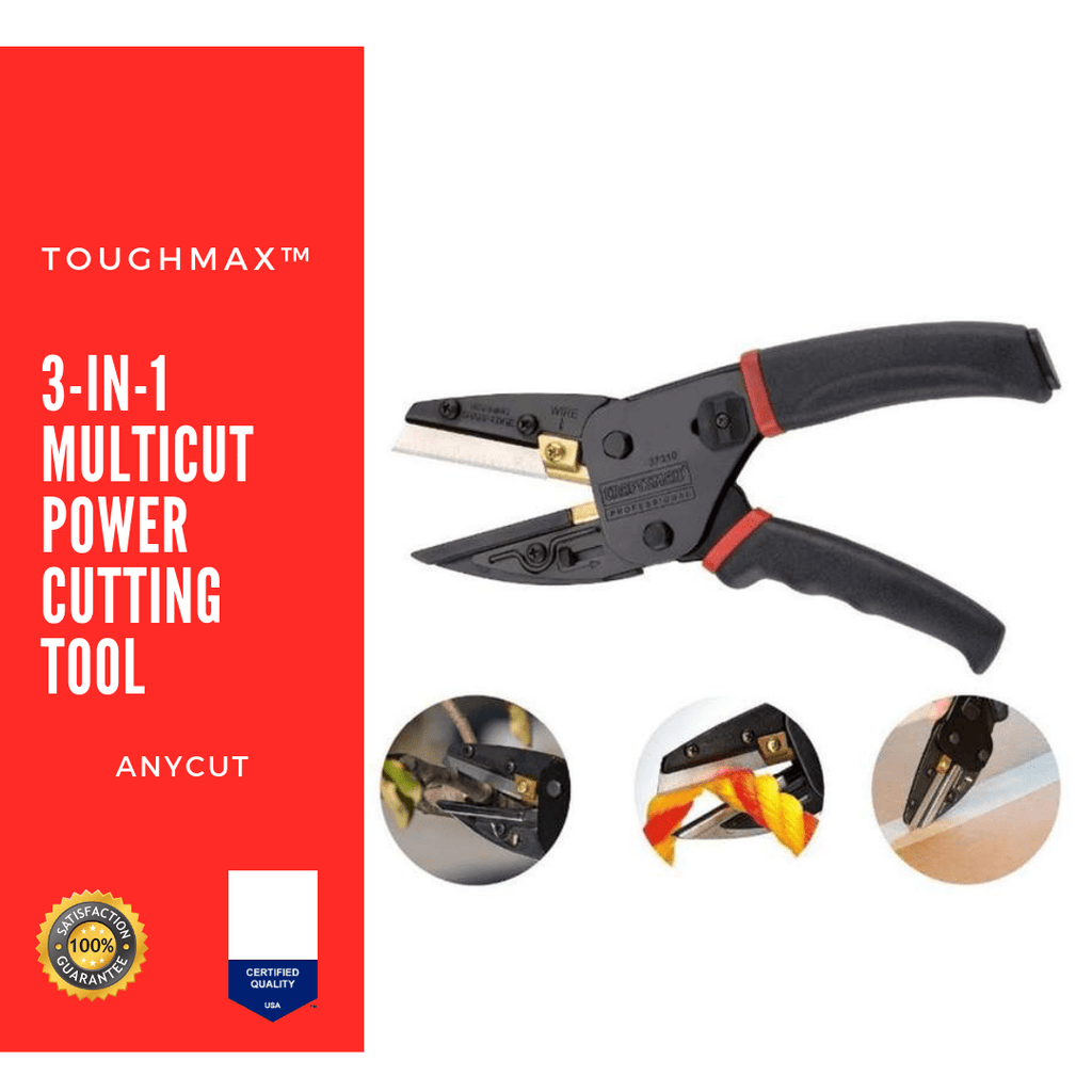 TOUGHMAX™ ANYCUT -  3-IN-1 MULTICUT POWER CUTTING TOOL