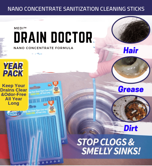 Medi™ DrainDoctor Year Pack