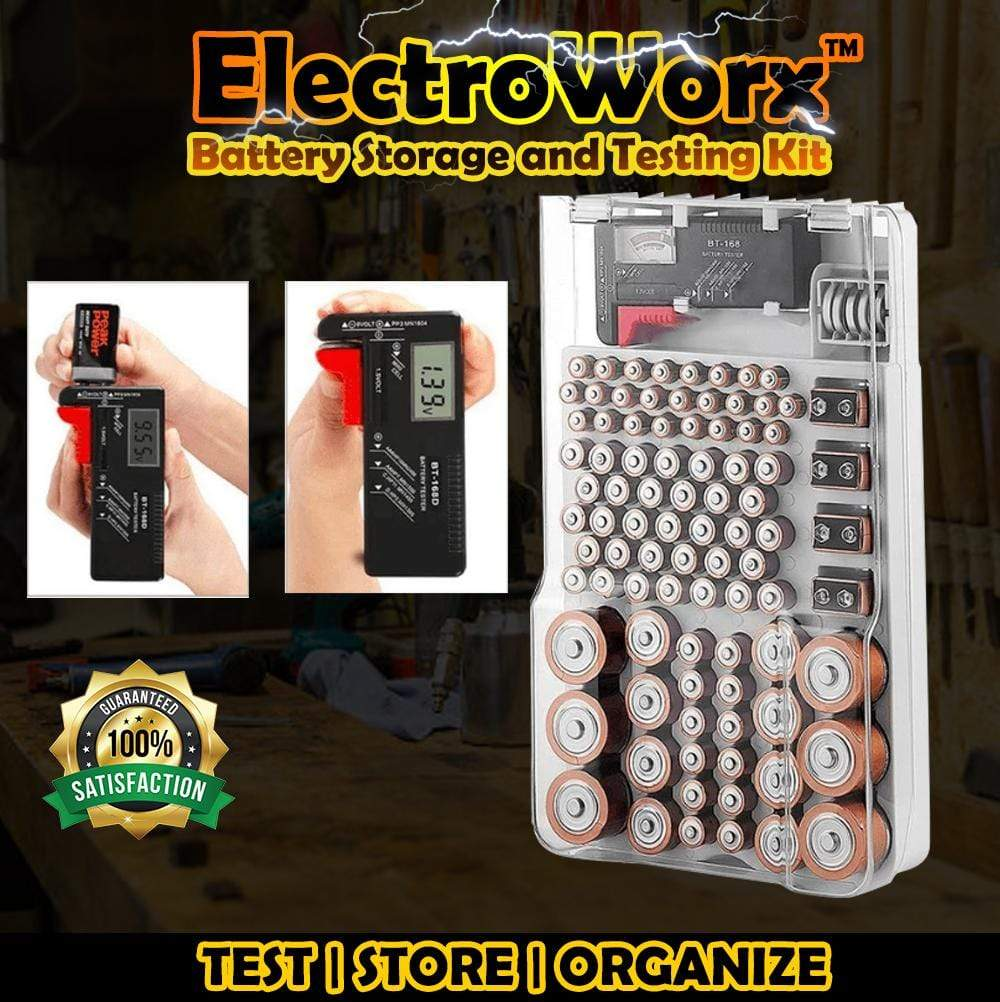 ElectroWorx™ Battery Storage and Testing Kit