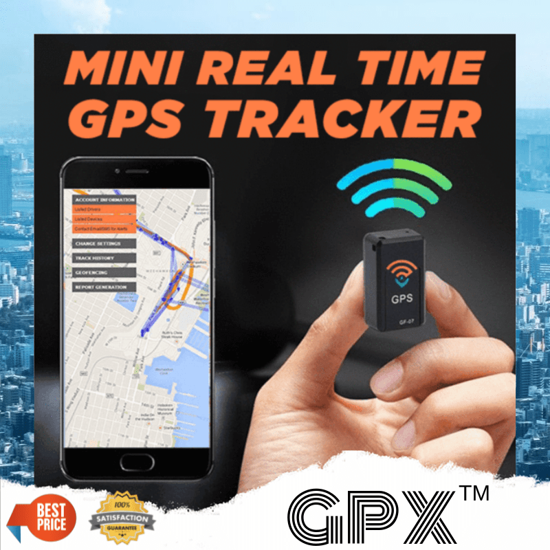 GPX™ - MAGNETIC MINI GPS REAL-TIME 75% OFF ONLY TODAY!-HOT