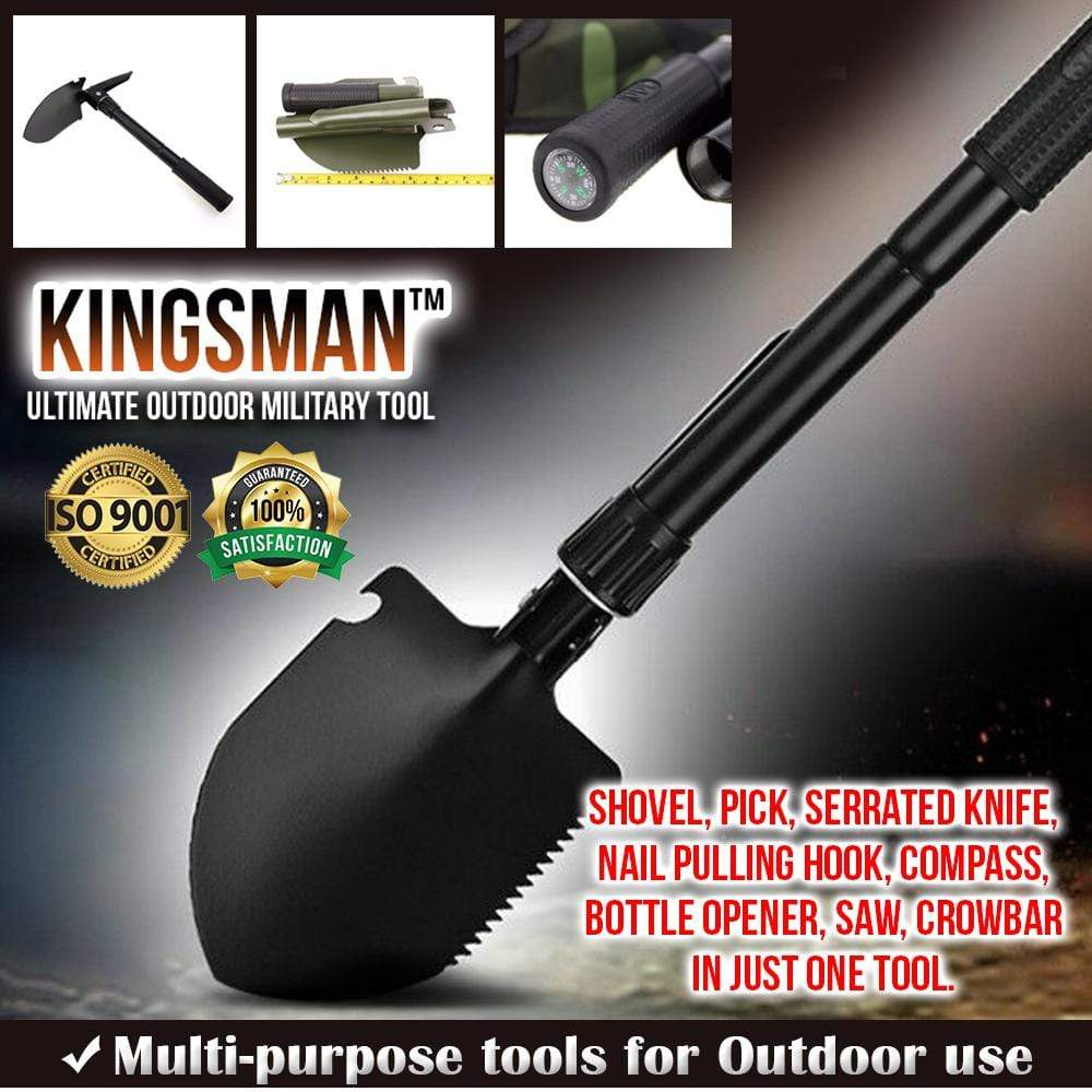 Kingsman ™ Ultimate Outdoor Military Tool