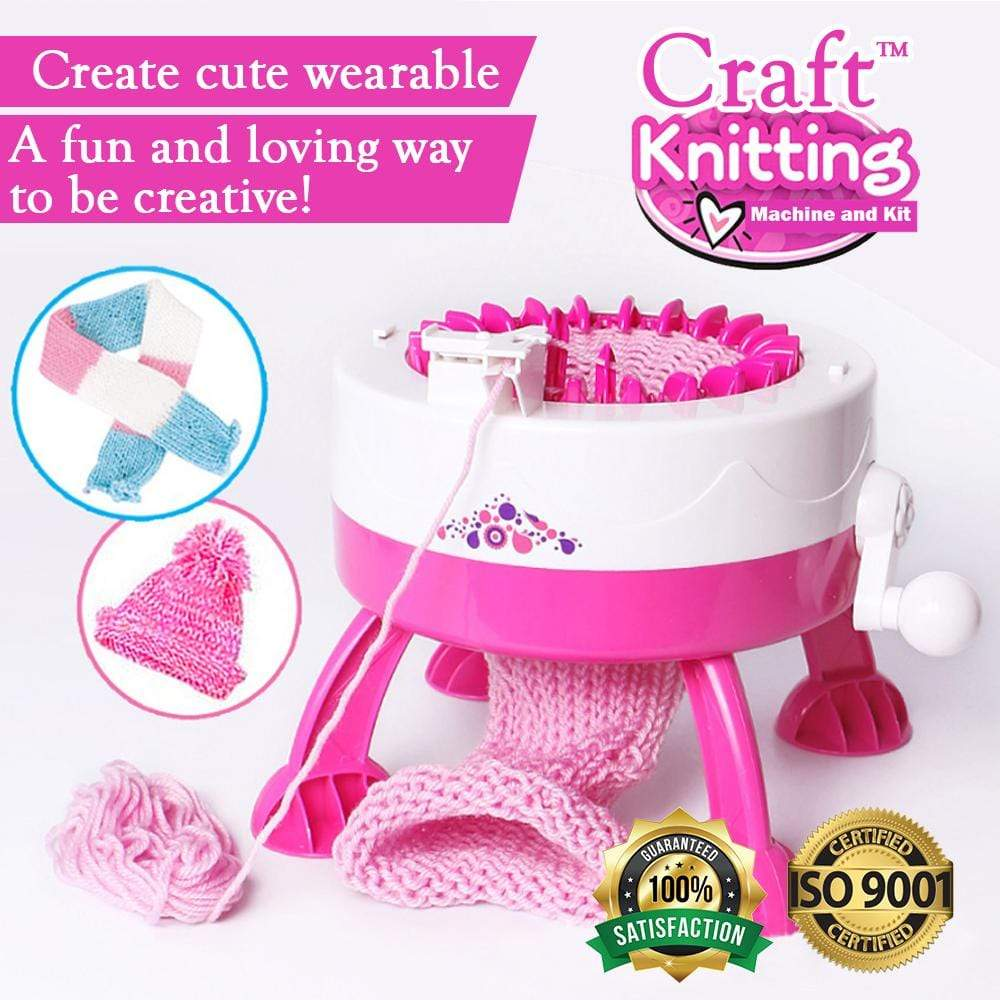Craft™ Knitting Machine & Kit