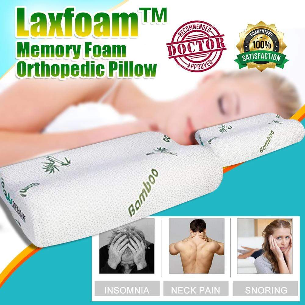 Laxfoam™ Memory Foam Orthopedic Pillow
