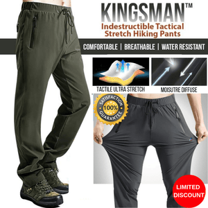 Kingsman™ Indestructible Tactical Stretch Hiking Pants