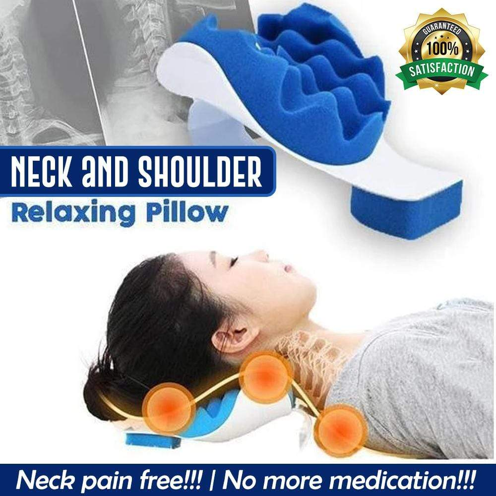 Neck and Shoulder Pain Relaxing Therapy  Pillow - HOT