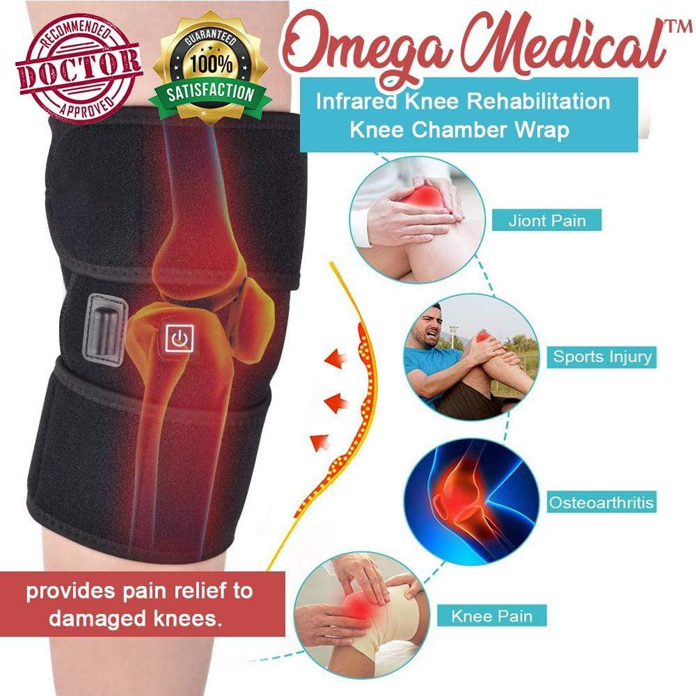 Omega Medical™ Infrared Knee Rehabilitation Knee Chamber Wrap