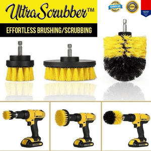 ULTRA SCRUBBER Drill Interior Cleaning Brush