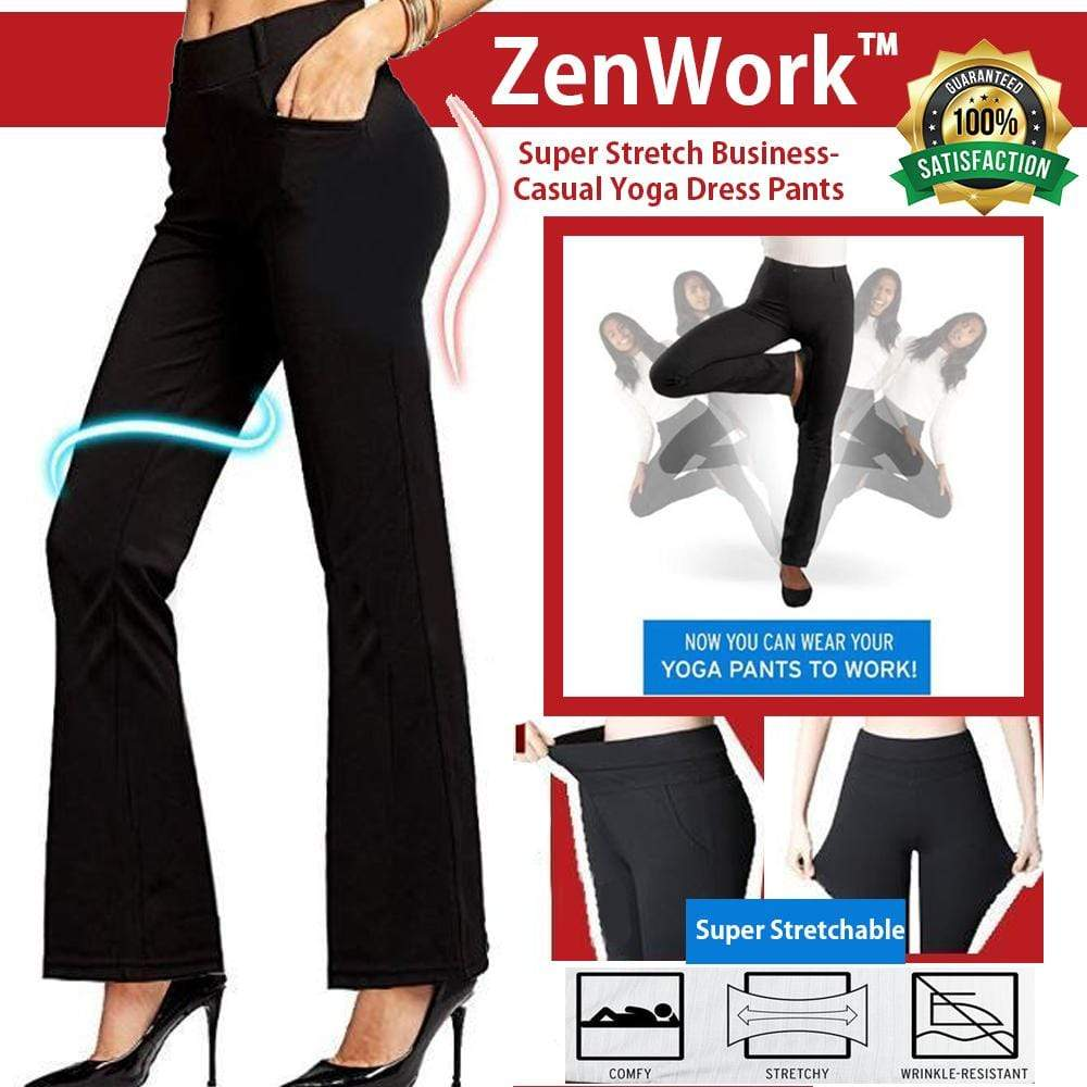 ZenWork™ Super Stretch Business-Casual Yoga Dress Pants