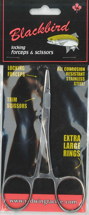 Blackbird Locking Forceps and Scissors