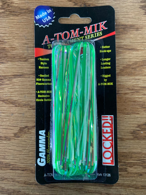 A-TOM-MIK Captain Pack Trolling Flies (Unrigged 4 pk)