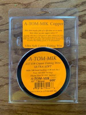 A-TOM-MIK 45# Copper Fishing Wire