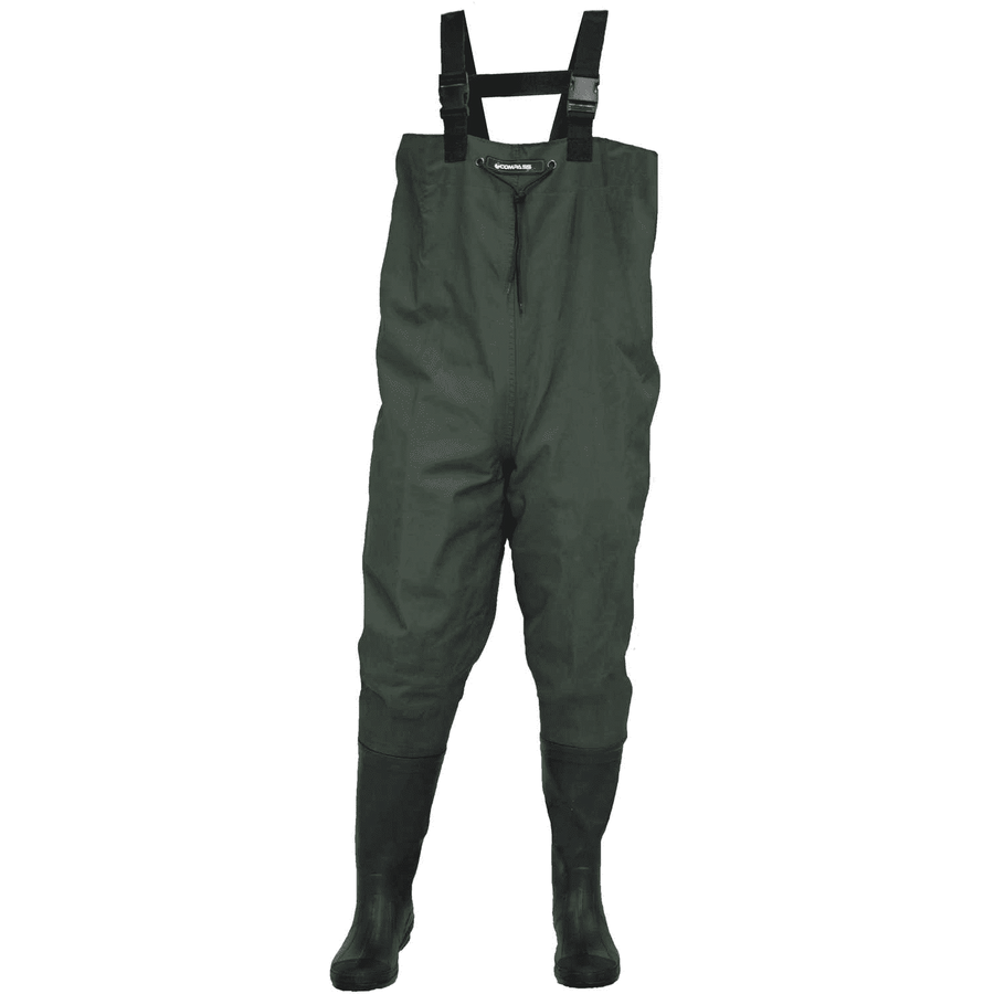 Compass 360 Oxbow Poly Rubber Cleated Boot Chest Wader