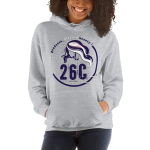 Women 26C (No Zip Heavy Blend) HOODIE (grd2386)