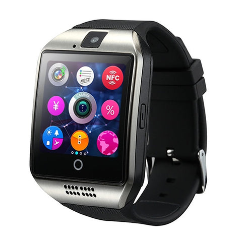 Smart camera phone fitness watch SIM card (si d00)