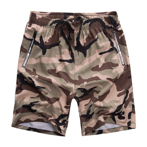 Men's shorts plus size beach camouflage shorts pants Men Colorful swimming trunks M-8XL