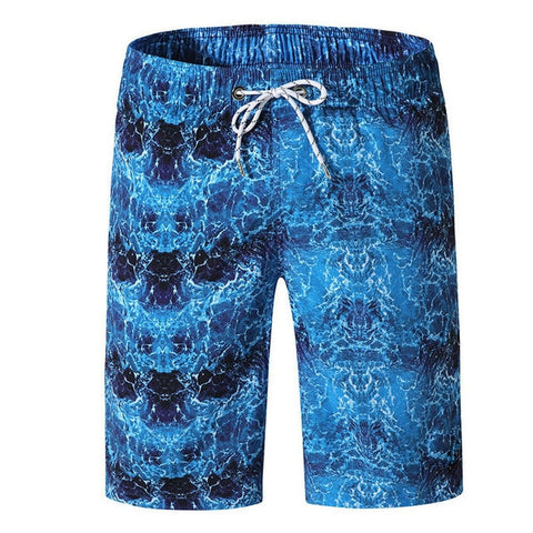 Plus size Mens board shorts water waves swimming trunks plus size breathable M-3XL