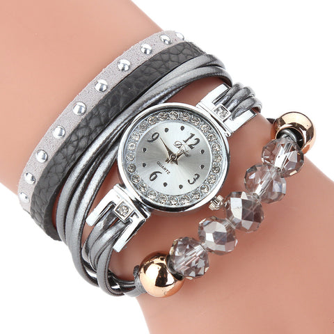 Womens luxury rhinestones quartz watch bracelet (gr d200)