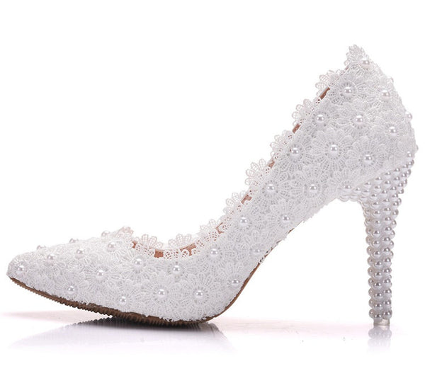 Women high heels shoes wedding (wh d300)