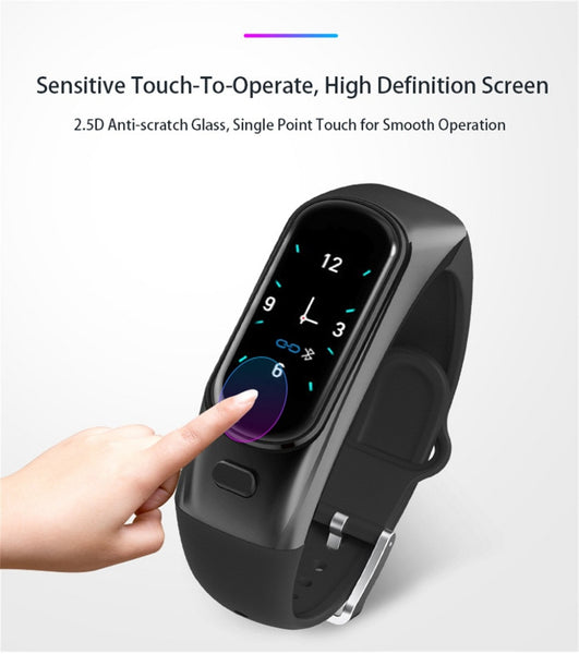 (2 in 1) Smart watch (DETACHABLE) Bluetooth airbuds ear phone (si usp632)