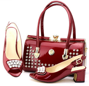 Women heels purse luxury set (rd dexp00)