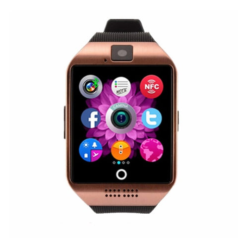 Smart camera phone SIM TF card watch bracelet (blk d00)